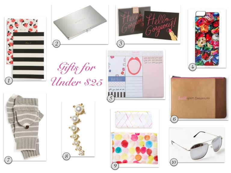 Gifts for Under $25