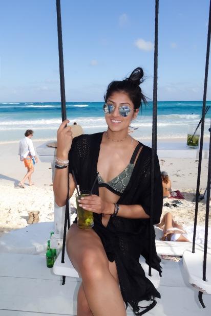Swings at Coco Beach Club