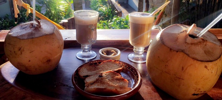 Complimentary breakfast at Ahau Tulum